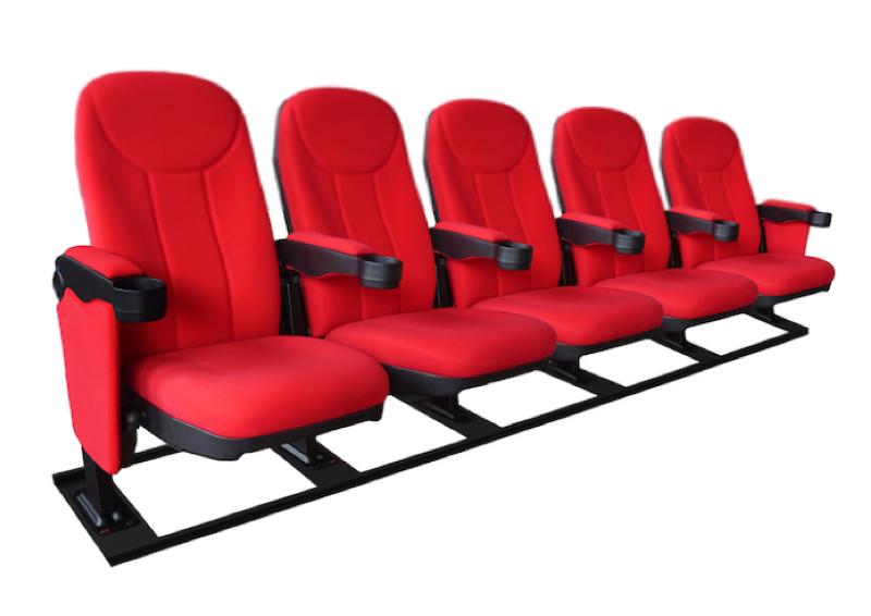 Cineseat F bioscoopstoelen met M-frame 5 zitter