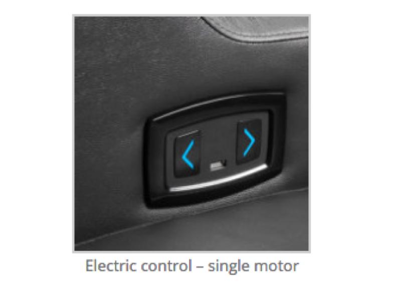 Electric control-single motor