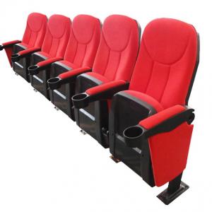 Cineseat bioscoopstoel 5 zitter rood