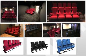 Cineslider luxe bioscoopstoelen