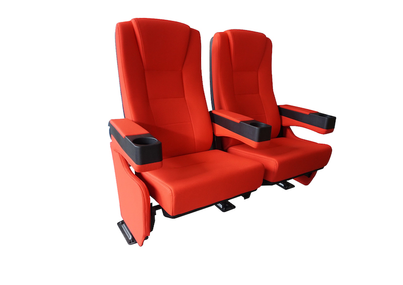 CineSlider luxe thuis bioscoopstoelen